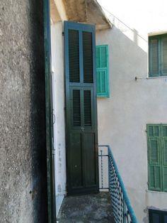 Balkon zur Via Fontana