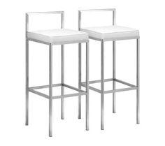 Viktor steel backless bar stool bar restaurant for White bar milano