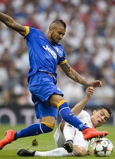 Vidal vs CR7