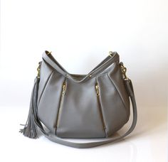 Soft Leather Purse   OPELLE Ballet Bag  Large by opellecreative, $272.00