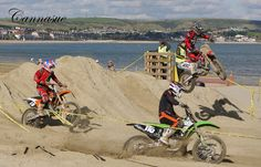 Moto cross on Weymouth beach.