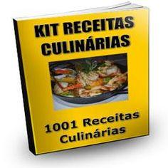 Toni Utilidades: Kit Receitas Culinárias