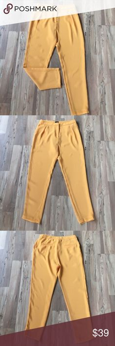 Silk pants Brand new without tags pants with side pockets. Very light and comfortable. Not Zara. Brand: Reserved. Zara Pants Trousers