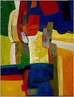 'Drôlu du Haut' (1964) by Maurice Estève