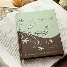 A time of Need Gift book by Holley Gerth With devotional thoughts and Scripture, A Time of Need , written and compiled by Holley Gerth, ushers hurting hearts through doors of comfort, peace, strength, joy, hope and the promises of God.