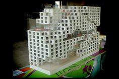 NO oslo the rock kantoorgebouw dnb maquette 01 2010 mvrdv (heestershuis schijndel 2013) | by Klaas5