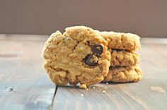 Gluten Free Peanut Butter Chocolate Chip Oatmeal Cookies