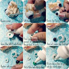 Delicious Bliss: Middie Blythe Customizations, Eyechip Removal