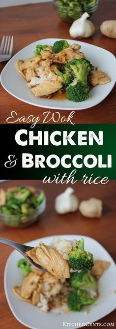 Easy Wok Chicken and