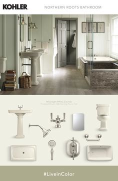 Bathroom Fixtures Colors the best paint colours for an almond / bone bathroom | pink roses