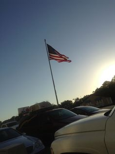 Love to see the American Flag flying in the Wind. Myrtle Beach June 2013