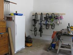 bike rack storage