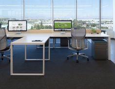 Evernote Office Interiors Bureau Design, Workspace Design, Office Workspace, Evernote, Open Concept Office, Open Space Office, Home Office, City Office, Cabin Interiors