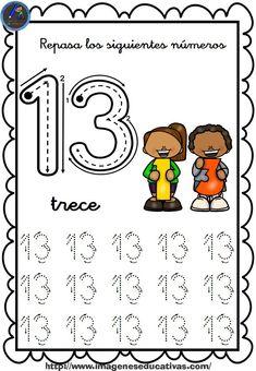 1 to 30 Numbers Line Study - Preschool Children Akctivitiys Preschool Number Worksheets, Numbers Preschool, Writing Worksheets, Preschool Math, Writing Activities, Writing Skills, Kindergarten Writing, Teaching Math, Letter M Crafts