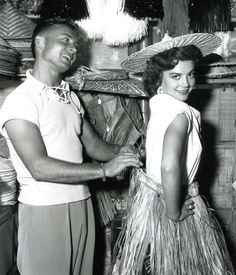 Nick Adams and Natalie Wood