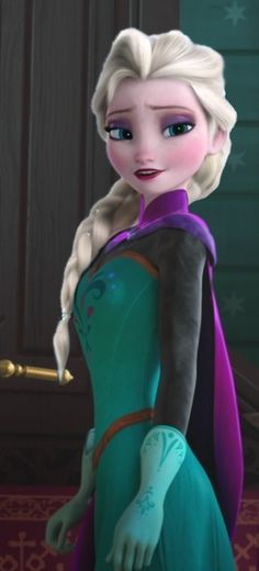That would be awesome if elsa had that French/Dutch braid the whole entire movie, because I just love that hair style on her!
