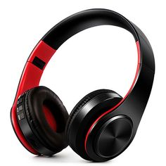 2017 New Colorful Foldable Bluetooth Headphone Wireless Noise Reduction Stereo Headset Earphone Support SD Card With Mic