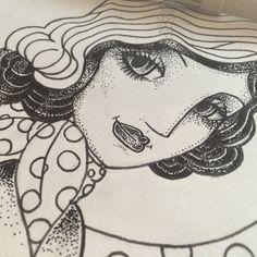 #illustration #oldschool #soniaperales #draw #pencil #handrawn #sakura #sakurapencil #artoftheday #art #drawing #sketch #sketchbook #ilustraciones #branding #handmade #manualidades
