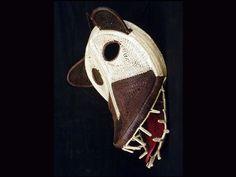 Wounaan woven mask