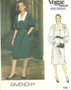 Vogue 1140 Paris Original // Designer Sewing by studioGpatterns