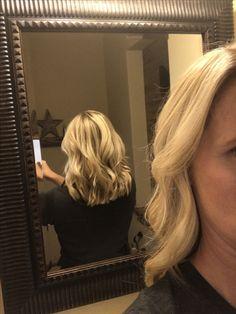 Love my haircut and