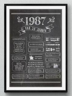 New Ideas birthday surprise diy chalkboard poster Mom Birthday Gift, 30th Birthday, Birthday Wishes, Birthday Cards, Husband Birthday, Chalkboard Poster, Diy Chalkboard, Birthday Chalkboard, Love Lily