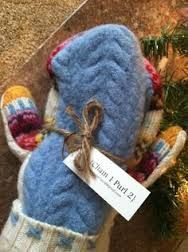 upcycled mittens - Google Search