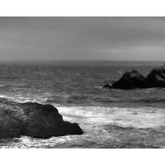 The Pacific Black and White Ocean Photography, Fine Art Home Decor,... ($25) ❤ liked on Polyvore featuring home, home decor, wall art, black and white wall art, black and white home decor, ocean wall art, black and white photography wall art and photo wall art