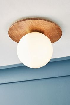 Tanner Globe Flush Mount by Anthropologie in Beige, Lighting Flush Ceiling Lights, Flush Mount Lighting, Globe Ceiling Light, Ceiling Lighting, Glass Ceiling, Anthropologie, 3d Home, Electrical Outlets, Globe Pendant