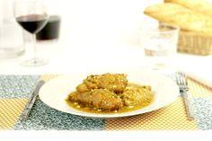 Gallina en pepitoria. Receta para Crock Pot #crockpot #crockpotting #slowcooker #slowcooking #recetas #gallina #pepitoria