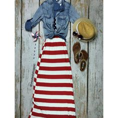 Love this look! The dress, the hat, the shoes, the sunglasses and denim top!