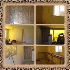 Insulate, drywall, and frame a bench Building A Garage, Drywall, Insulation, Bathroom Medicine Cabinet, Bench, Loft, Frame, Furniture, Home Decor