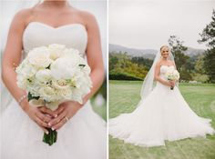 Brightwood Photography // Coordination by Sugar Branch Events // Dove Canyon Country Club // White Bouquet