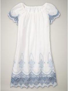 Windowpane Lace Dress--love at first sight.