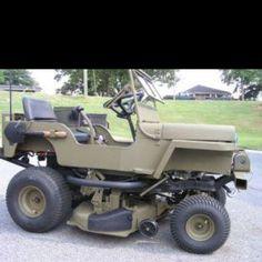 Jeep lawn mower