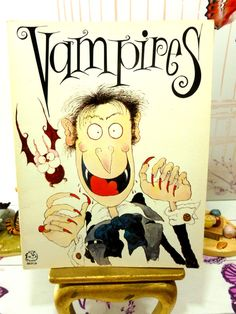 Vampires by Colin Hawkins Humorous Childrens Comic by KittysTales