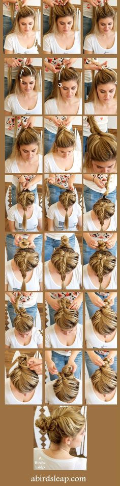 Fishtail Braided Bun