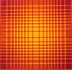 Hannes Beckmann, (1909 -1977), Structured field, 1966, Acrylic on canvas, 18 x 18 inch.