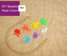 You'll wonder how you've gotten this far without this handy dandy Beaded Mask Chain! 📿 Our easy-to-follow DIY shows you how to make a face mask lanyard so it's always in reach. No more digging around that bag (or in the backseat) for your or your child's face covering! Change up the beads to match your style!