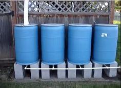 http://www.offgridquest.com/rainwater-harvesting/home-made-220-gallon-rain-barrel-collect
