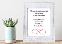 Be That Way With Me - Rumi Love Quote Inspirational Poster ~ Romantic & Passionate Poem for #ValentinesDay ~ Print & Display Today!