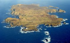 Fair Isle (from Old Norse Friðarey; Scottish Gaelic Fara) is an island in northern Scotland, lying around halfway between mainland Shetland and the Orkney islands. It is famous for its bird observatory and a traditional style of knitting.