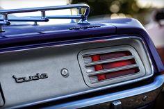 426 Photograph - 1970 Plum Crazy Purple Plymouth cuda by Gordon Dean II
