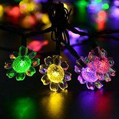 Sunflower solar string lights!