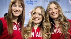 Justine and Chloé just won the gold and the silver medals! So proud of them! CANADIAN OLYMPICS LAPOINTE-DUFOUR SISTERS...