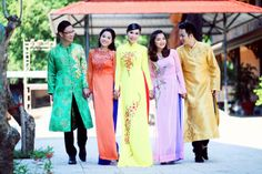 Ao Dai, Kimono Top, Asian, Costumes, Embroidery, How To Wear, Tops, Dresses, Women