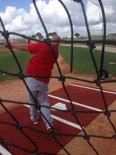Nobody works harder than Matt Holliday.  @KSDKSports  #stlcards Spring training 2015