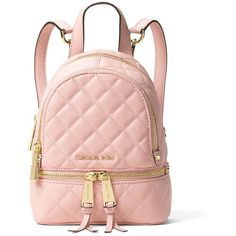 SOLD Michael Kors Mini Rhea crossbody backpack | Bags, 2! and Finals