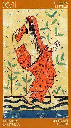 The Star - Etruscan Tarot