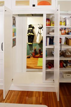 Hidden pantry playroom on trundle bed sliders
